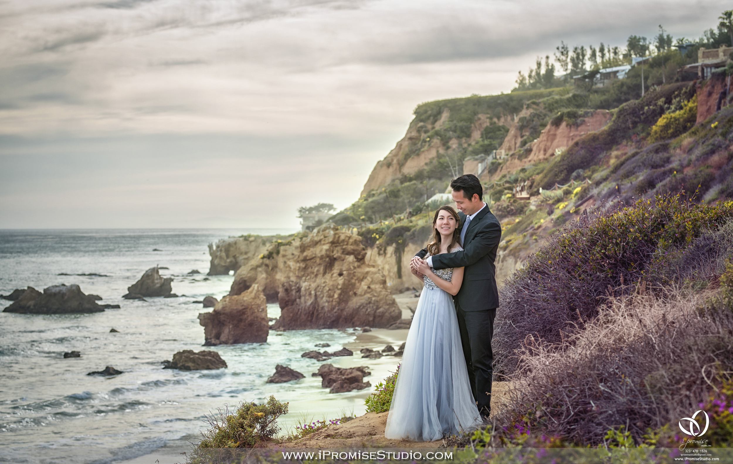 California CA-1 Freeway Highway Cliff Bridge - Engagement Wedding 02.JPG