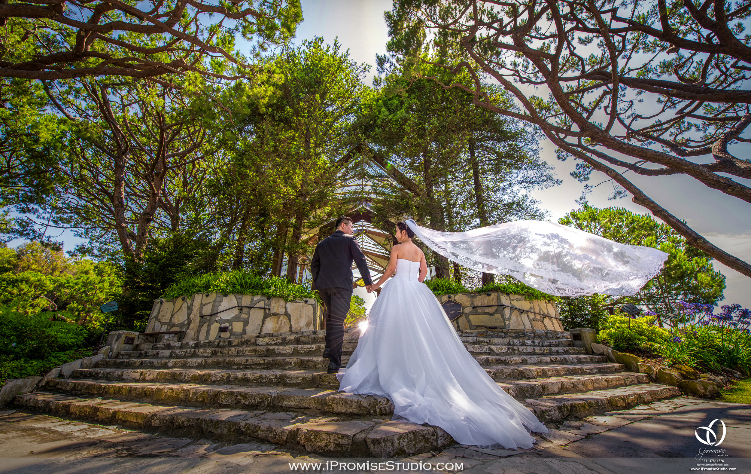 LA Wayfarers Chapel engagement wedding.JPG