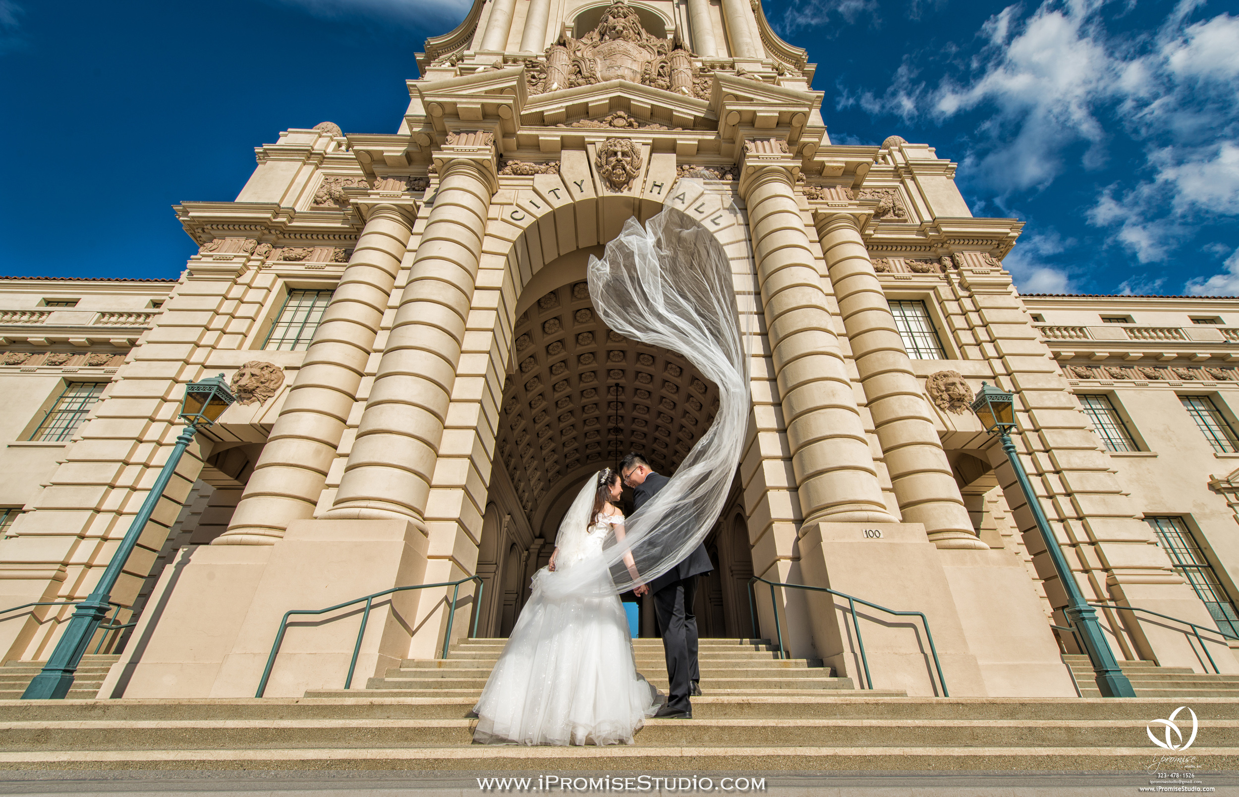 Pasadena Cityhall engagement wedding 15.JPG