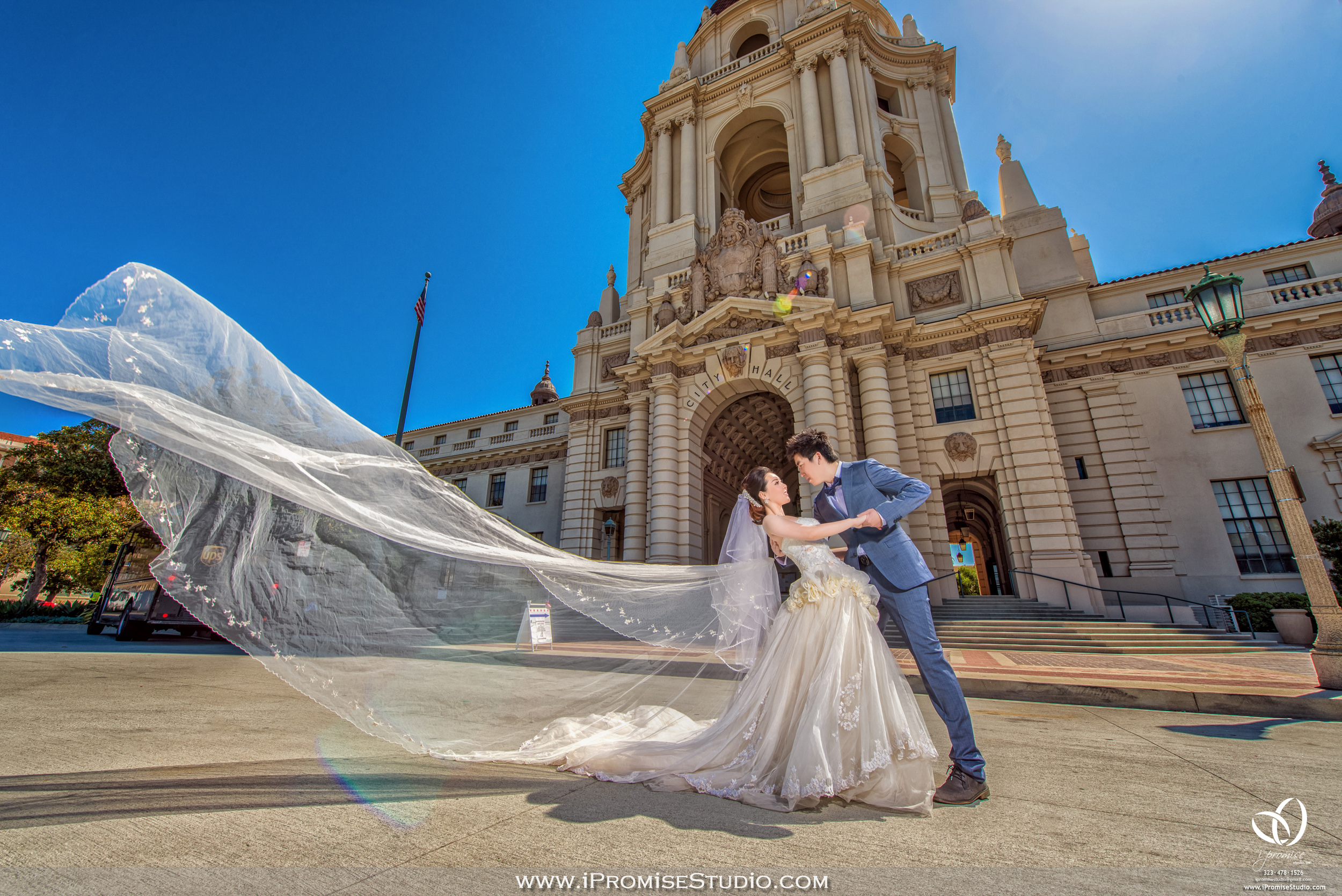 Pasadena Cityhall engagement wedding 17.JPG